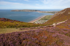 The North Wales coastline Stock Photography