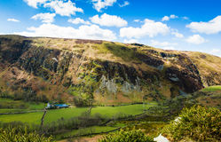 North Wales countryside landscape. Countryside landscape of Snowdonia in North Wales Stock Photography