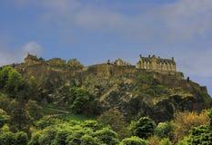 North Walls of Edinburgh Castle, Scotland Royalty Free Stock Image