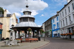 North Walsham, UK. The town of North Walsham, Norfolk, England Stock Photo