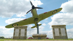 North Weald Memorial. The Battle of Britain Memorial at North Weald Historic Airfield, Essex, England, UK Royalty Free Stock Photo