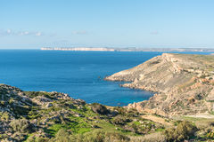 North West coast of Malta Royalty Free Stock Images