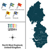 North West England, United Kingdom Royalty Free Stock Photos