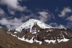 North-West rib of sacred Mount Kailash. North-West rib of sacred Mount Kailash in Western Tibet Stock Image