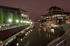 North West view over Bristol Temple Quay (B) Royalty Free Stock Images