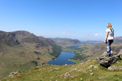 North Western English Lake District Cumbria England Royalty Free Stock Photography