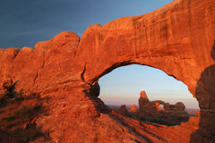 North Window to Turret Arch Stock Images