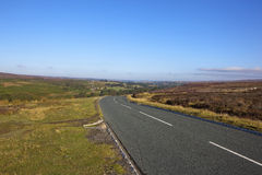 North york moors highway Royalty Free Stock Photography