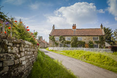 North York moors. Hutton-le-Hole, a small village in North York Moors National Park Royalty Free Stock Photos