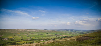 North York moors. Typical landscape in North York Moors National Park Stock Images