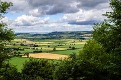 North Yorkshire lantligt landskap Royaltyfria Bilder