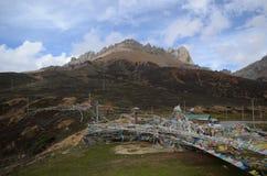 North Yunnan landsacpe. Yunnan, China Royalty Free Stock Image