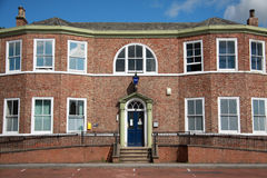 Northallerton Police Station. The front of Northallerton Police Station in North Yorkshire, England Royalty Free Stock Photos