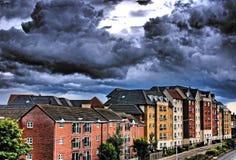 Northampton-Ansichten lizenzfreies stockfoto