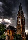 Northampton Chappel. Evening view of Northampton Chappel in HDR Stock Photography