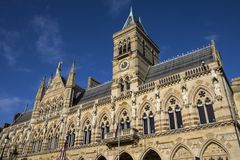 Northampton-Rathaus lizenzfreie stockbilder