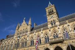 Northampton-Rathaus stockbilder