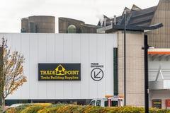 Northampton, Regno Unito - 26 ottobre 2017: Vista del logo del punto commerciale di Bq in Nene Valley Retail Park Fotografia Stock