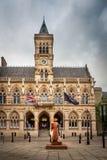 Northampton stad, England, UK fotografering för bildbyråer