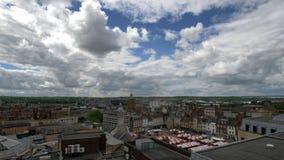 Northampton Town cityscape England, UK arkivbild