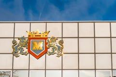 Northampton UK Grudzień 07, 2017: Miswa substancj chemicznych Fabryczny logo podpisuje wewnątrz Brackmills Przemysłową nieruchomo Fotografia Royalty Free