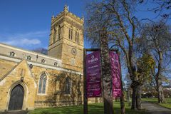 St. Giles Church in Northampton royalty free stock images
