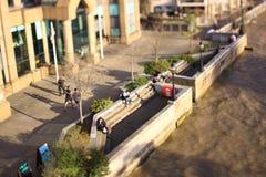 Northbank, Londra, Regno Unito Fotografia Stock Libera da Diritti