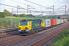 Northbound freight Stock Image