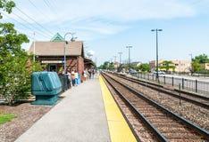 Northbrook Metr stacja, usa Obraz Stock