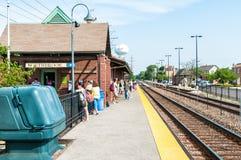 Northbrook Metr stacja, usa Obrazy Stock