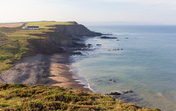 Northcott Mouth in Cornwall Royalty Free Stock Photography