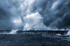 Northeast Atlantic waves Royalty Free Stock Photography