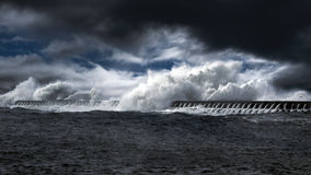 Northeast Atlantic waves Stock Images