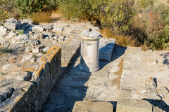 Northeast Bastion in ancient city Troy. Turkey Stock Photography