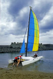 Northeast Coast Regatta. Held in the waters northeast of Taiwan's yacht race Stock Images