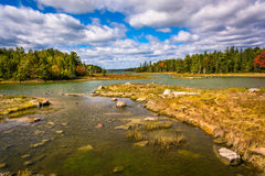 Northeast Creek, on Mount Desert Island in Bar Harbor, Maine. Stock Photos