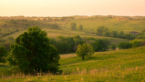 Northeast Nebraska Countryside stock images