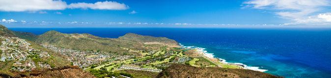 Northeast Oahu Panorama Stock Photography