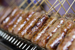 Northeast Thai sausage Royalty Free Stock Photo