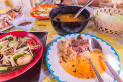 Northeast Thai style food called `Gaeng om nue` Royalty Free Stock Image