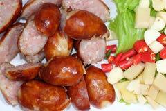 Northeastern Sausage Royalty Free Stock Images