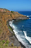 Northen coast of Tenerife, in Canary Islands Royalty Free Stock Images