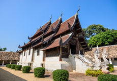 Northen thailand old  temple Royalty Free Stock Images