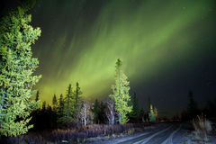Norther lights (Aurora Borealis) Stock Photos