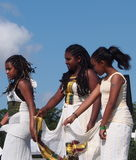 Northern Africa Dancers At Edmontons Heritage Days Stock Images