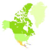 Northern America Royalty Free Stock Photos