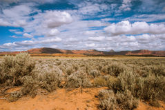 Northern Arizona Desert, USA. Lifeless desert of northern Arizona, USA stock photography