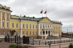 The northern building of the Artillery Foundry, Kazan Royalty Free Stock Photo