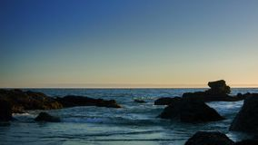 Northern California Beach stock footage