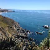 Northern California coastline Stock Photos